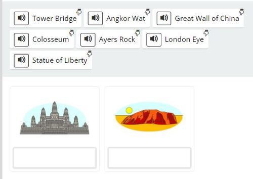 CE2/3 - A world to VISIT: Landmarks & monuments.