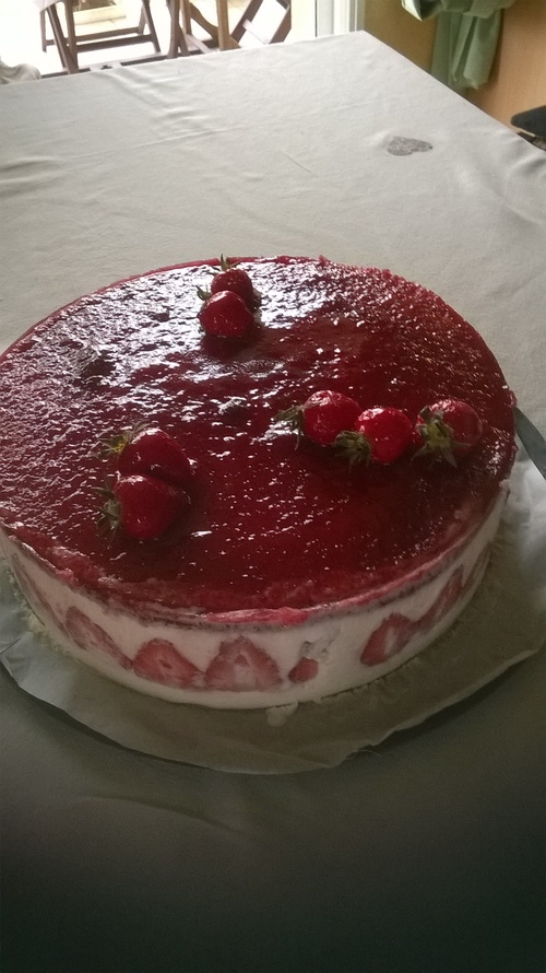 gâteau anniversire KARINE