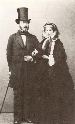 Duc et Duchesse de Morny 1863: