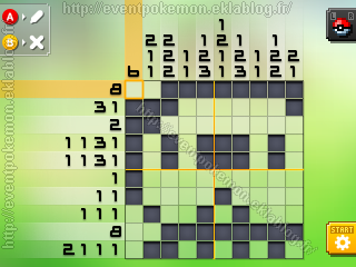 Moustillon Pokémon Picross