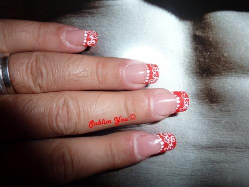 French rouge gel classique Pause Beauté...