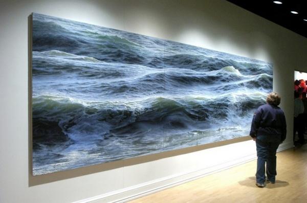 peinture ocen huile realiste 10 Peindre l océan    Ran Ortner