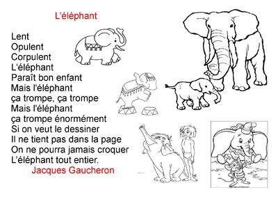 poésies : les animaux