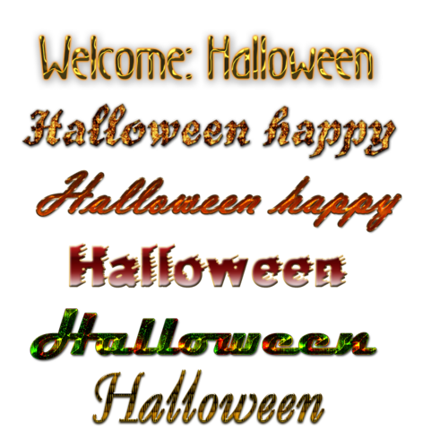 Word-art d'Halloween !