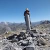 Au sommet de la Peña Sabocos (2757 m) devant Vignemale et Monte Perdido
