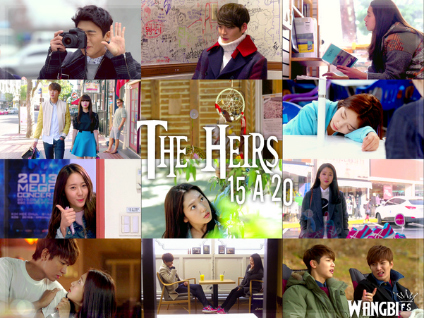 Sortie : The Heirs 15 à 20