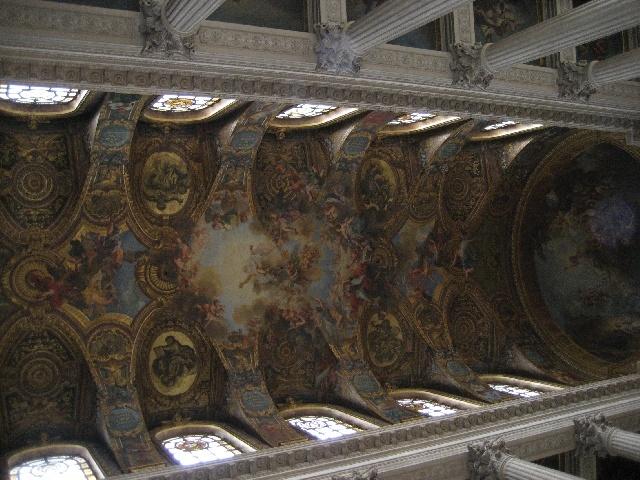 Un plafond somptueux
