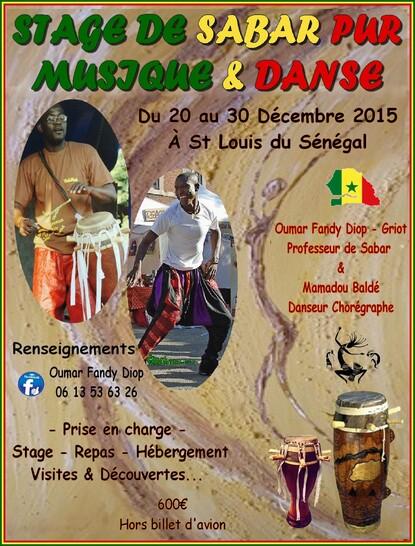 ★ Stage Percus & Danse au Sénégal [Décembre 2015]