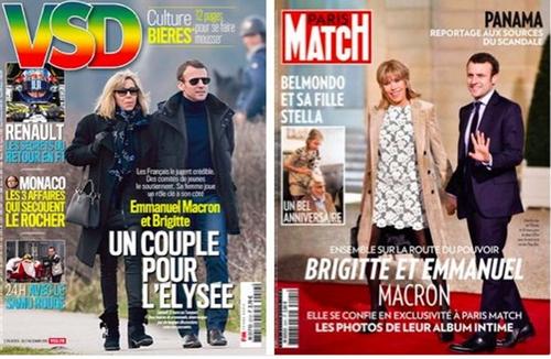 Le petit Macron se taille tout seul un costume !