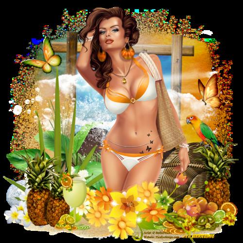 Tutoriel tropical fruity