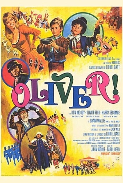 OLIVER BOX OFFICE 1969