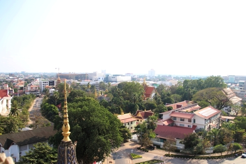 Le Patuxai à Vientiane