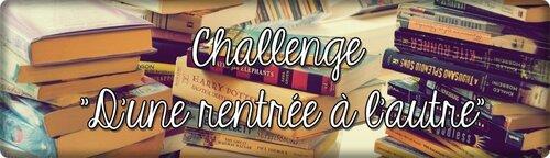 Challenge - D'une rentrée à l'autre