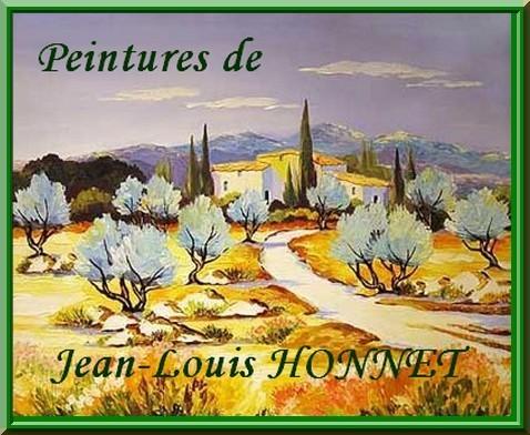 honnet jean-louis oliviers et genets