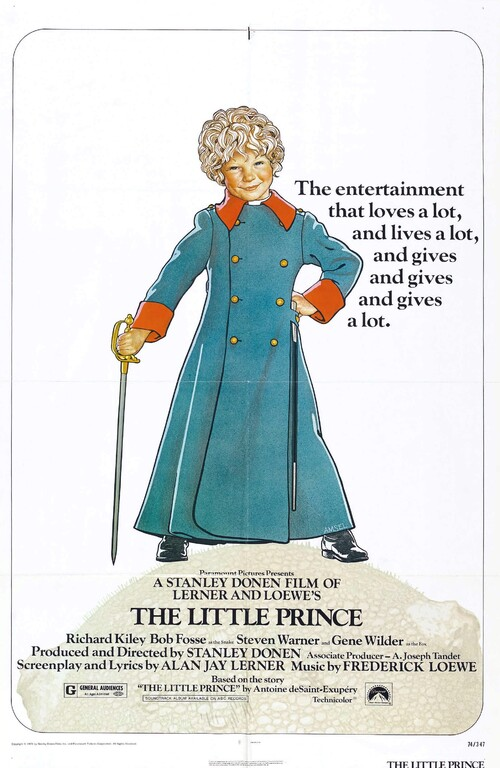 THE LITTLE PRINCE BOX OFFICE USA 1974