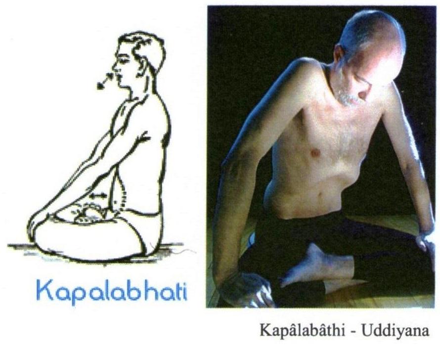 Kapalabhati et Uddiyana