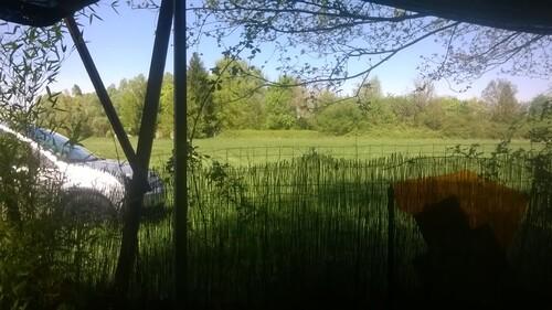 Cabane au bord d'un lac