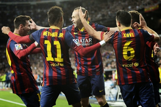 Barcelone surprend le Real