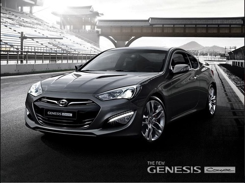 New Hyundai Genesis restylée