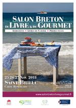 . 4 Toqués au SALON BRETON du LIVRE & du GOURMET - St Bieuc (22)