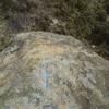 Croix latine (300 m), derrière la borne frontière numéro 2