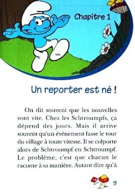Les Schtroumpfs Reporter 2