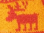 Bonnet aux rennes (taille 6/9 ans)