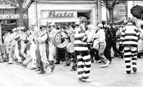 Le carnaval boulevard Jacquard dans les années 1960