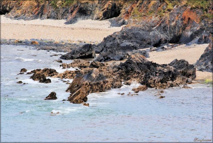 Photo de plage de la presqu'île de Crozon dans le Finistère
