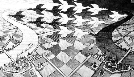 Le Roi et l'Oiseau: autour la projection - ESCHER