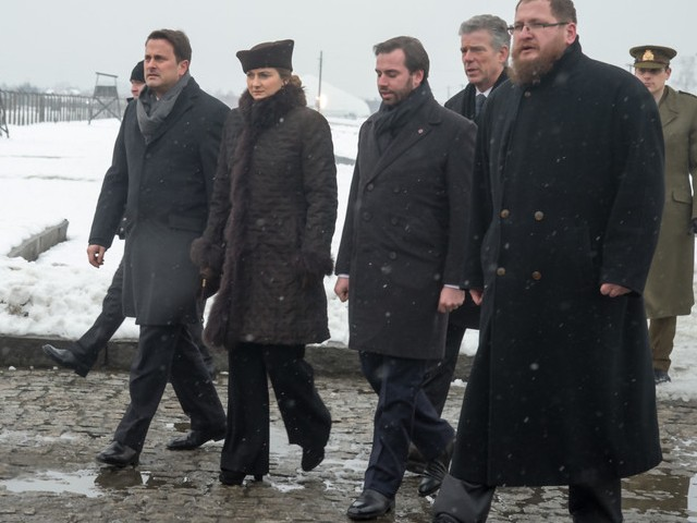 70è commémoration de la libération du camp de concentration d'Auschwitz-Birkenau