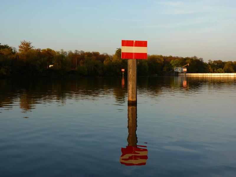 Fin de la Ballade sur le plan d'eau......