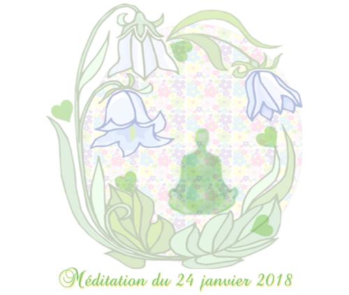 Méditation du 24 janvier 2018