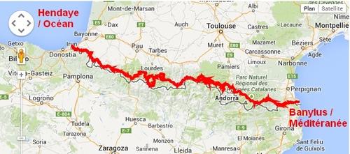 Les Pyrénées d'Est en Ouest !!!