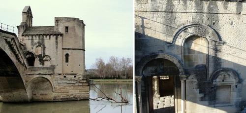 Les ponts sur le Rhône - 1/ le pont Saint Benezet