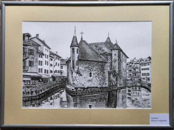 Annecy le palais d'Isle