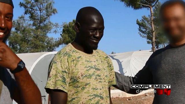 Omar Diaby, djihadiste de 40 ans, est considéré comme l'un des principaux recruteurs de combattants français. Capture d'écran.