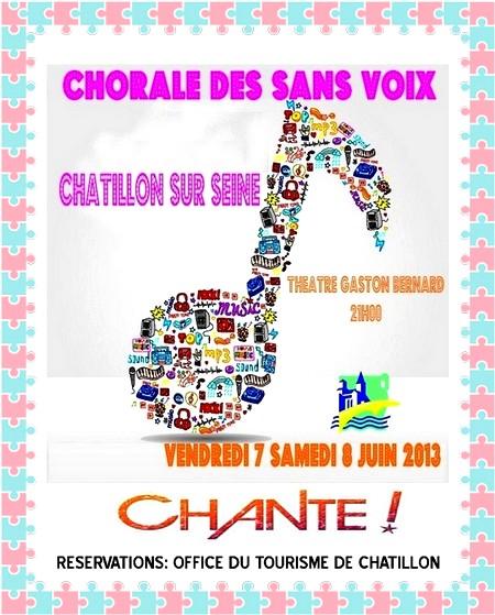 La Chorale des Sans Voix , bientôt en concert !