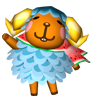 Karen animal crossing WII