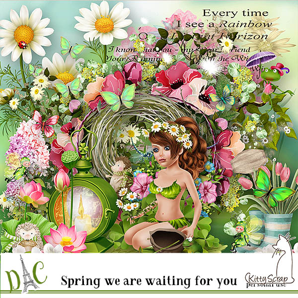kit spring we are waiting for you de kittyscrap