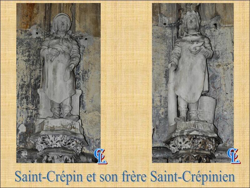Saint-Crépin et Saint-Crépinien...