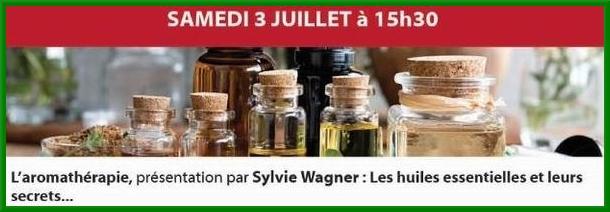 """""""Les huiles essentielles et leurs secrets"""", par Sylvie Wagner, passionnée d'aromathérapie"""