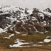Descente vers la Cabane det Caillau et le Rocher appelé le Caillaü