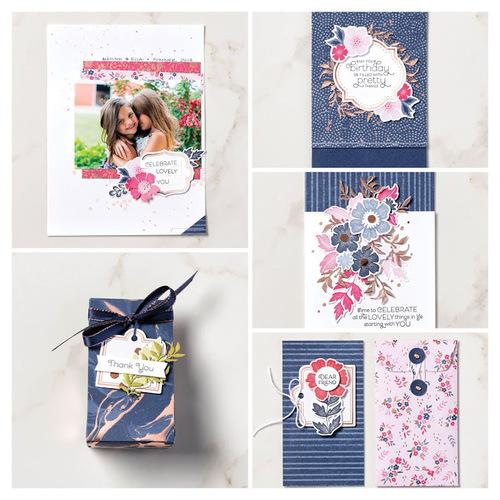 """mini collection """"Tout est plus rose""""...."""