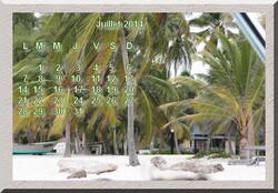 Tutoriel 7 Faire un mois de texte et chiffre pour créer un calendrier
