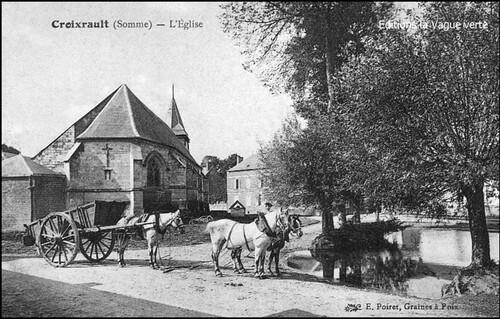 A propos de l'orthographe d'un nom de village : Croixrault