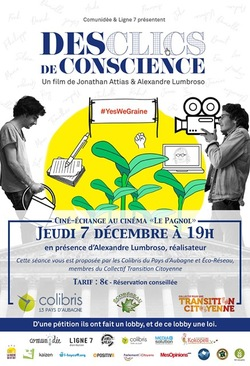 "Projection ""Des clics de conscience"""