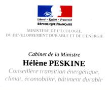 VENCVL au Ministère de l'Écologie