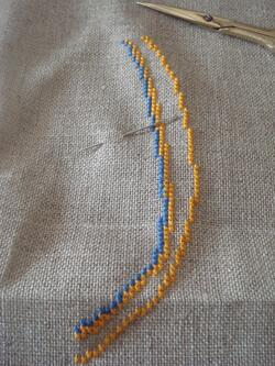 Nouvelle broderie
