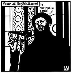 Honoré aussi nous a quitté voici son dernier dessin publié
